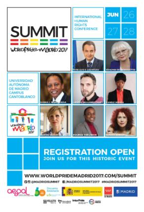 Summit WorldPride Madrid 2017